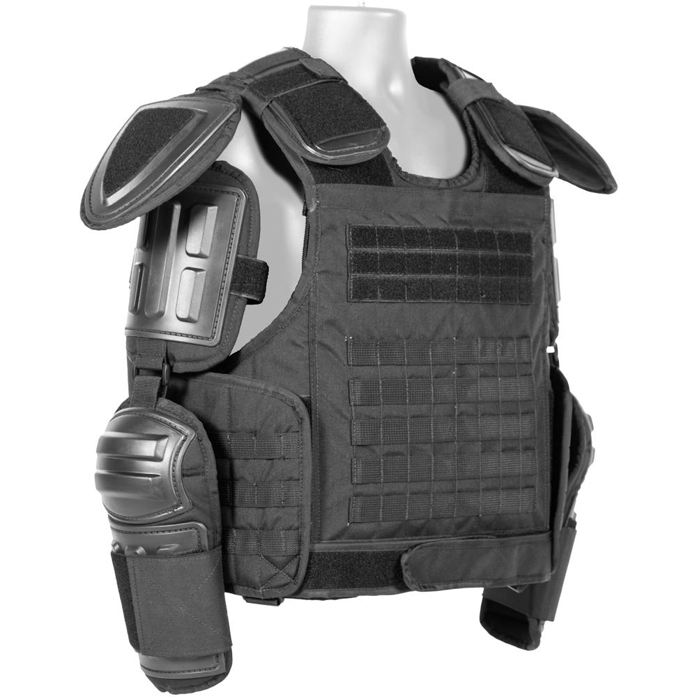 Haven Gear Enforcer MP Riot Vest Black Tactical Gear Australia Supplier Distributor Dealer