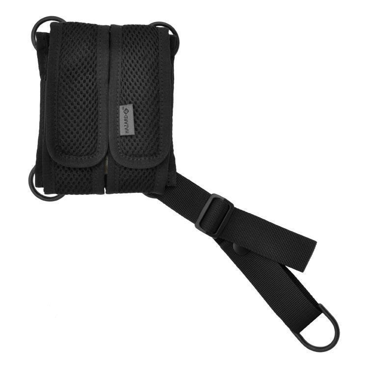 Hazard 4 AeroliteMag Double Magazine Pouch Black-Pouches-Tactical Gear Australia