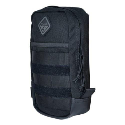 Hazard 4 Broadside MOLLE 9x5 Inch Utility Pouch Black-Bags, Backpacks and Protective Cases-Tactical Gear Australia