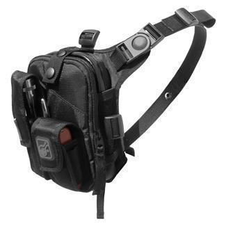 Hazard 4 Covert Escape RG Chest Pack Black-Bags, Backpacks and Protective Cases-Tactical Gear Australia