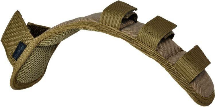 Hazard 4 Deluxe Strap Pad Shoulder Strap Pad with Molle Coyote-Bags, Backpacks and Protective Cases-Tactical Gear Australia