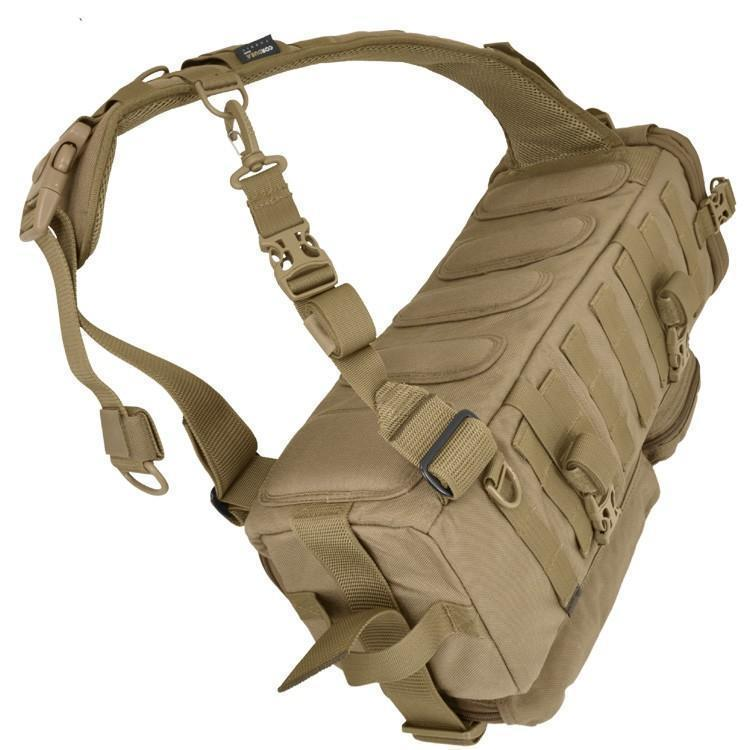 Hazard 4 Evac Photo Recon Tactical Optics Sling Pack Coyote-Bags, Backpacks and Protective Cases-Tactical Gear Australia