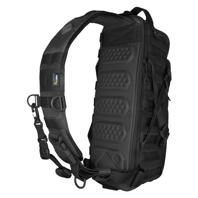 Hazard 4 Evac Plan-B Front/Back Modular Sling Pack Black-Bags, Backpacks and Protective Cases-Tactical Gear Australia
