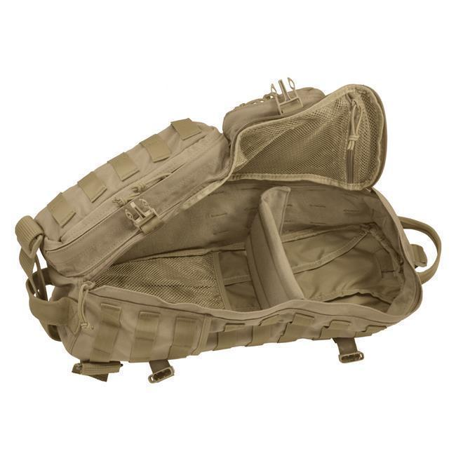 Hazard 4 Evac Plan-B Front/Back Modular Sling Pack Coyote-Bags, Backpacks and Protective Cases-Tactical Gear Australia