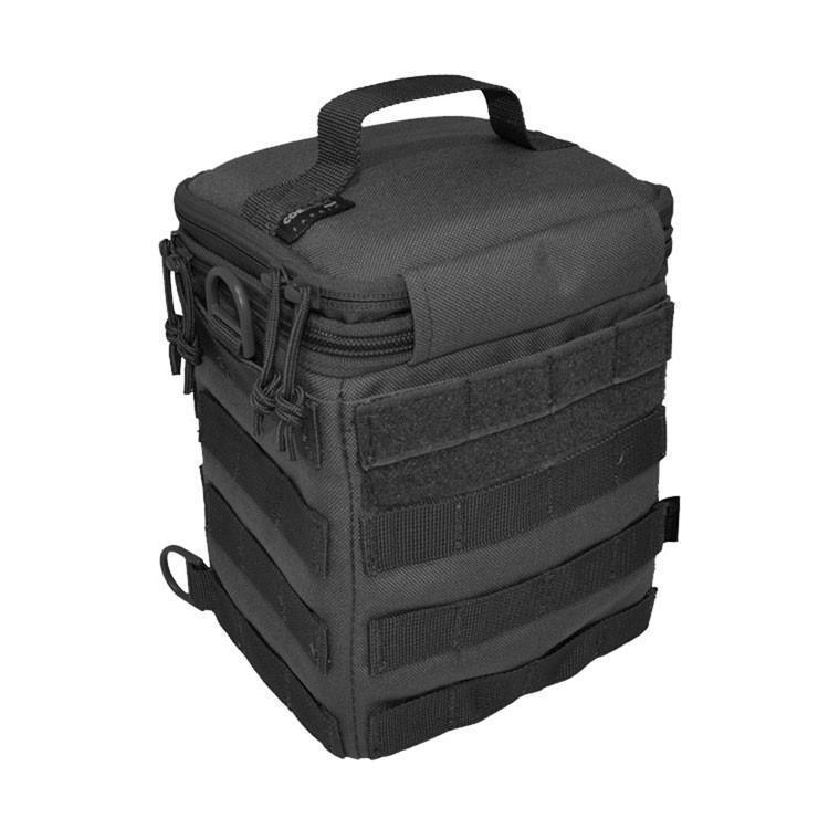 Hazard 4 Forward Observer Molle SLR Camera Bin Black-Bags, Backpacks and Protective Cases-Tactical Gear Australia