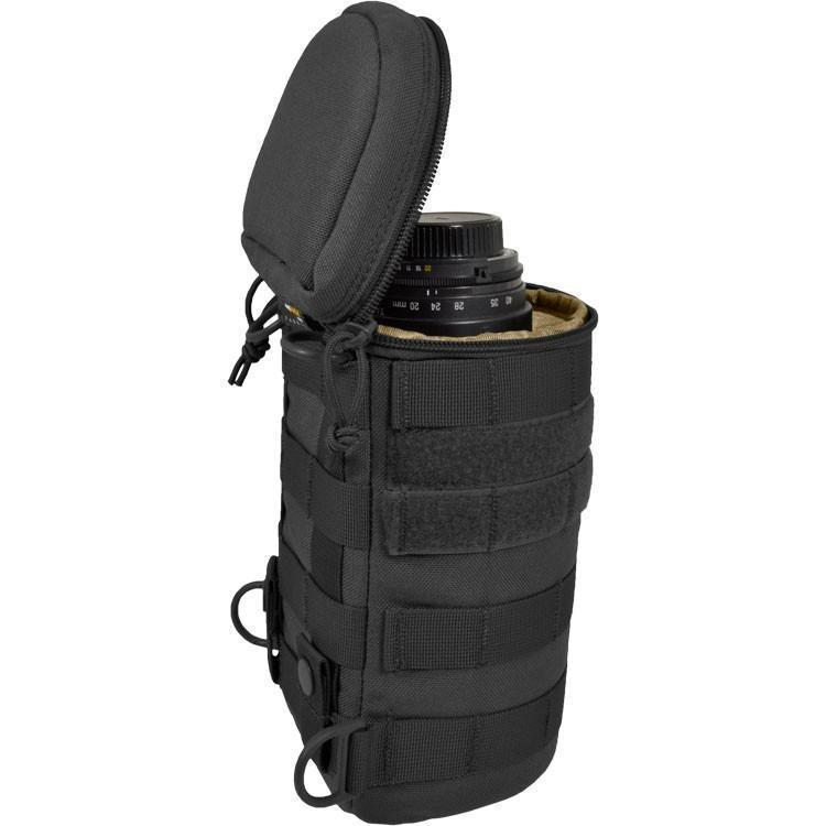 Hazard 4 Jelly Roll Lens/Scope/Bottle Padded Case Black-Pouches-Tactical Gear Australia