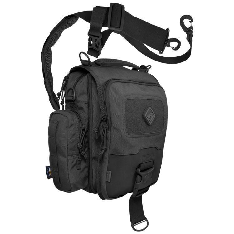 Hazard 4 Kato iPad/Tablet Mini-Messenger Bag w/ MOLLE Black-Bags, Backpacks and Protective Cases-Tactical Gear Australia