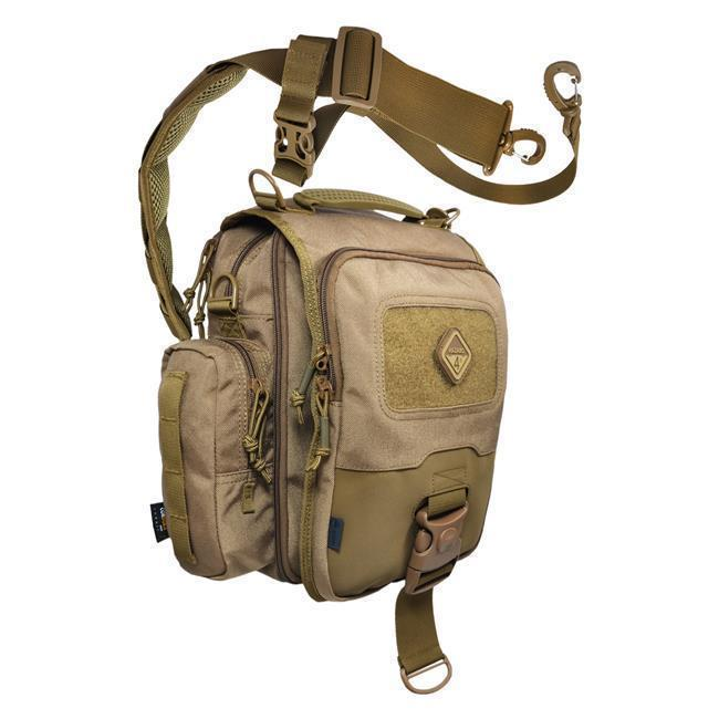 Hazard 4 Kato iPad/Tablet Mini-Messenger Bag w/MOLLE Coyote-Bags, Backpacks and Protective Cases-Tactical Gear Australia