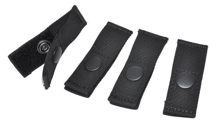 Hazard 4 Molle-Pal Mounting Joints for Webbing Systems Black-Molle Accessories-Tactical Gear Australia