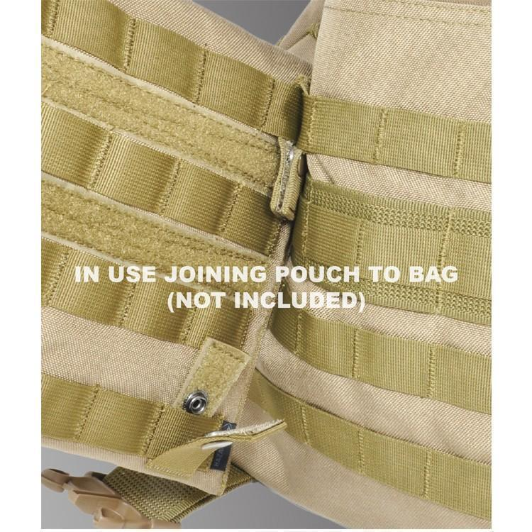 Hazard 4 Molle-Pal Mounting Joints for Webbing Systems Coyote-Molle Accessories-Tactical Gear Australia