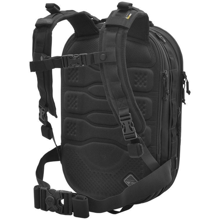 Hazard 4 Pillbox Thermocap Photo-Daypack Black-Bags, Backpacks and Protective Cases-Tactical Gear Australia