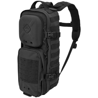 Hazard 4 Plan-C Dual Strap Slim Daypack Black-Bags, Backpacks and Protective Cases-Tactical Gear Australia