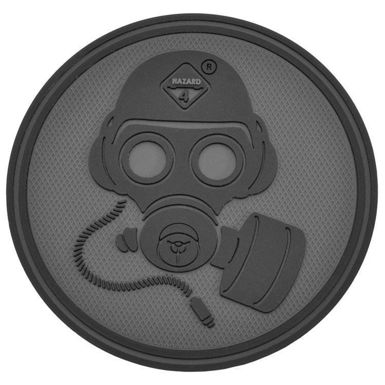 Hazard 4 Special Forces Gas Mask Patch Black-Accessories-Tactical Gear Australia