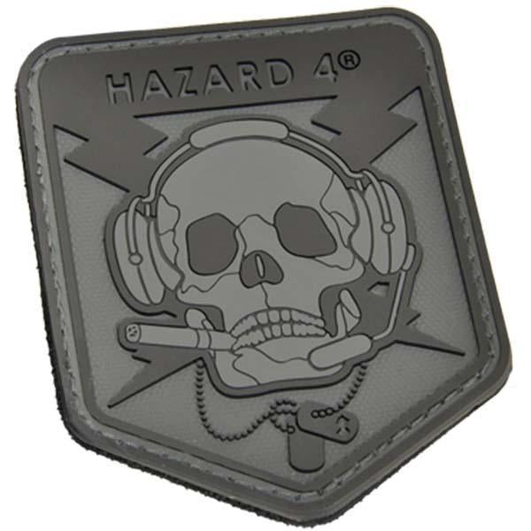 Hazard 4 Special Ops Skull Patch Black-Patch-Tactical Gear Australia