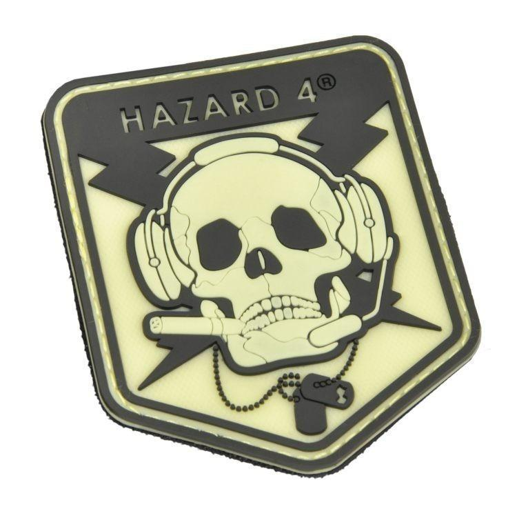 Hazard 4 Special Ops Skull Patch Glow In The Dark-Patch-Tactical Gear Australia