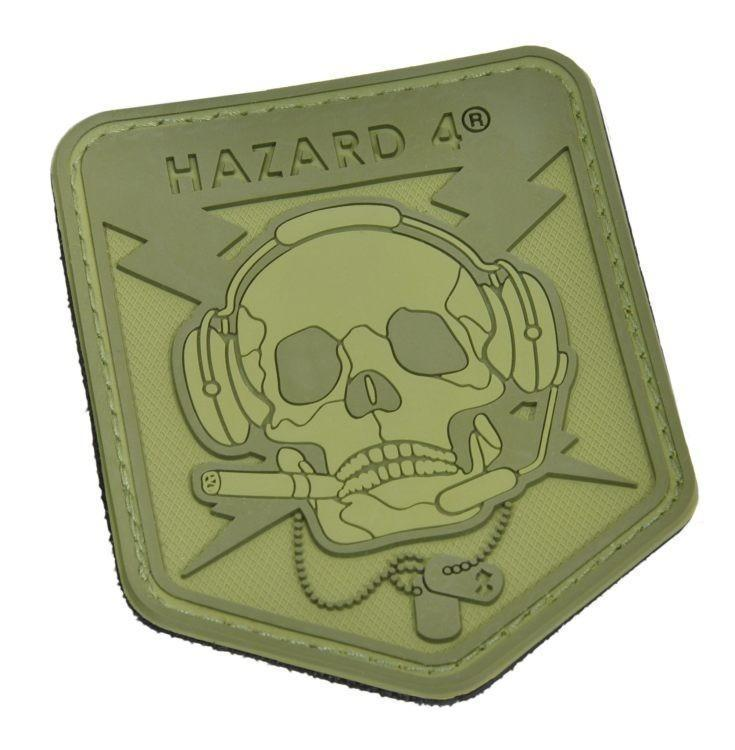 Hazard 4 Special Ops Skull Patch OD Green-Patch-Tactical Gear Australia