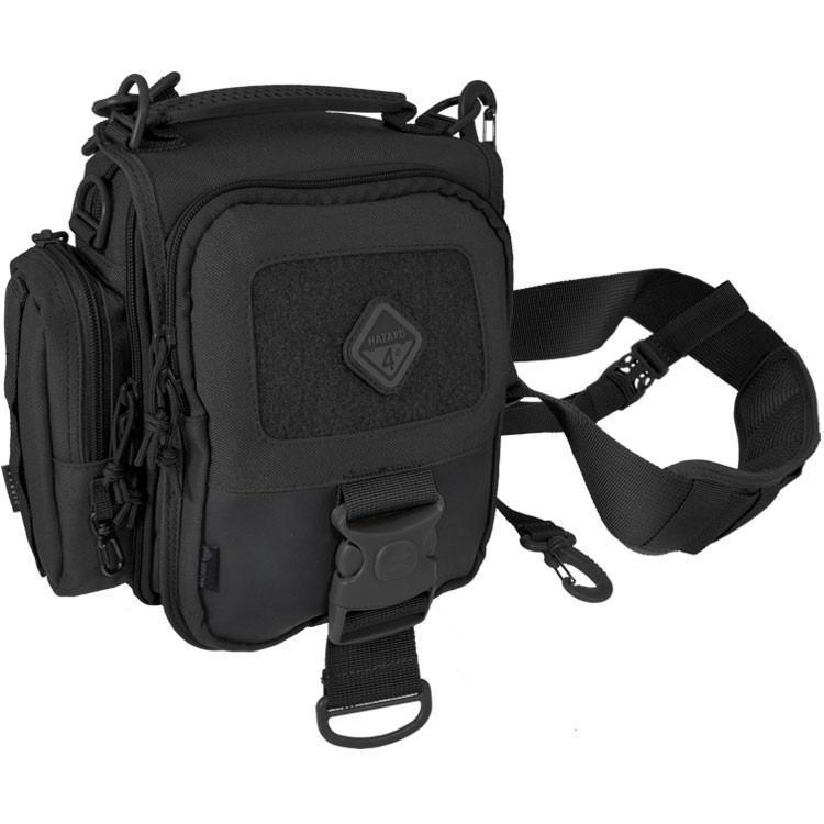 Hazard 4 Tonto Concealed Carry Mini-Messenger Black-Bags, Backpacks and Protective Cases-Tactical Gear Australia