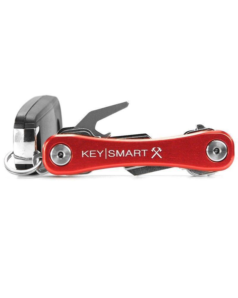 KeySmart Rugged Aluminium Red-EDC Everyday Carry-Tactical Gear Australia