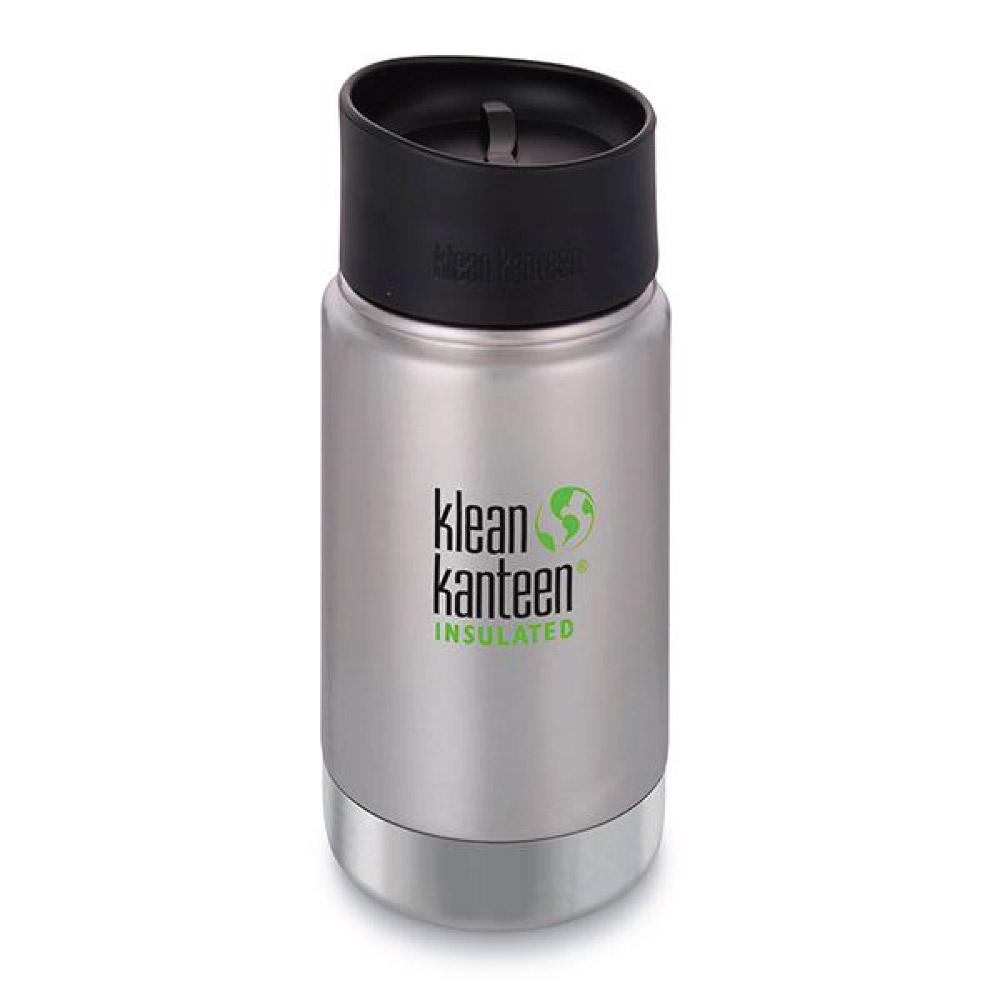 Klean Kanteen 12oz Wide Insulated Cafe Cap 2.0 Brushed Stainless Tactical Gear Australia Supplier Distributor Dealer
