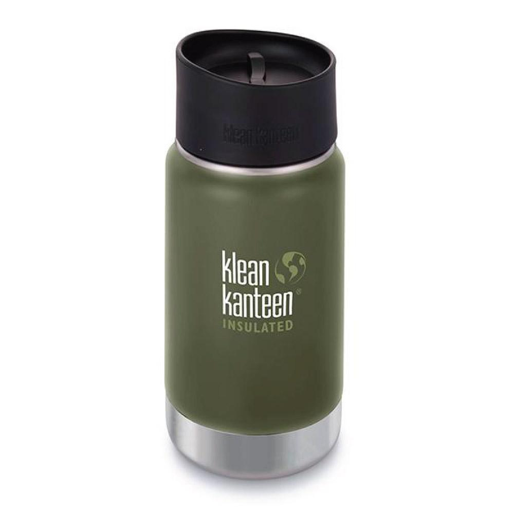Klean Kanteen 12oz Wide Insulated Cafe Cap 2.0 Fresh Pine Tactical Gear Australia Supplier Distributor Dealer