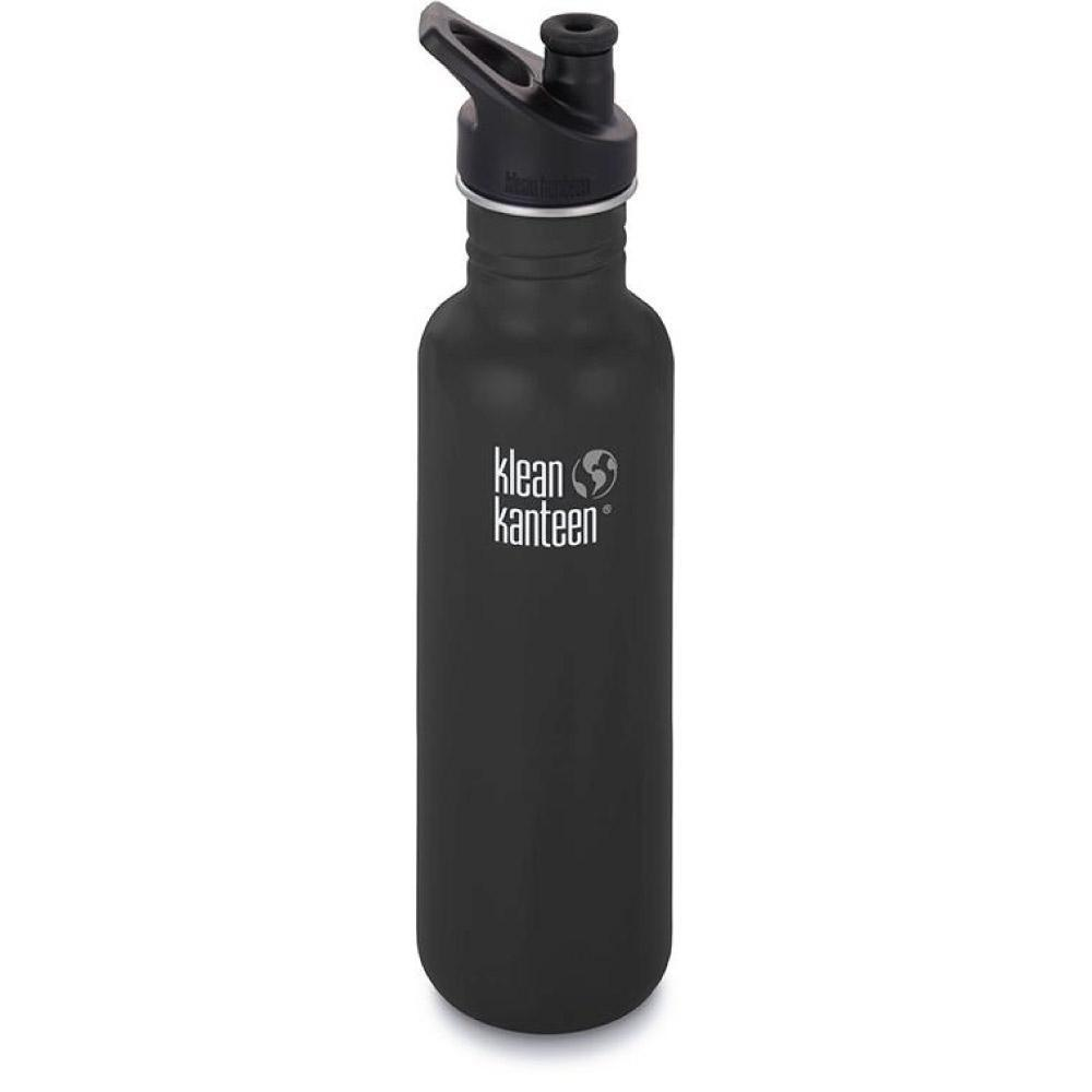 Klean Kanteen 27oz Classic Sport Cap Shale Black Tactical Gear Australia Supplier Distributor Dealer