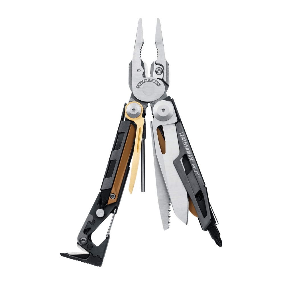 Leatherman MUT Stainless Multi Tool with Brown Molle Sheath Tactical Gear Australia Supplier Distributor Dealer