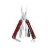 Leatherman Squirt PS4 - Red-Multi Tools-Tactical Gear Australia