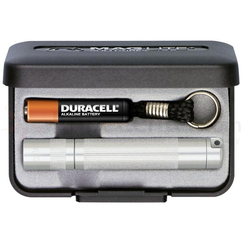 Maglite Solitaire AAA Keychain Light in Presentation Box - Silver-Flashlights and Lighting-Tactical Gear Australia