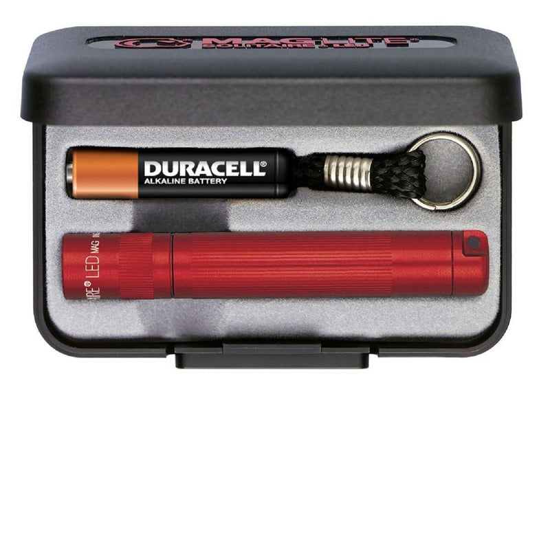 MagLite Solitaire LED AAA Flashlight Presentation Box, Red-Keychain Lights-Tactical Gear Australia
