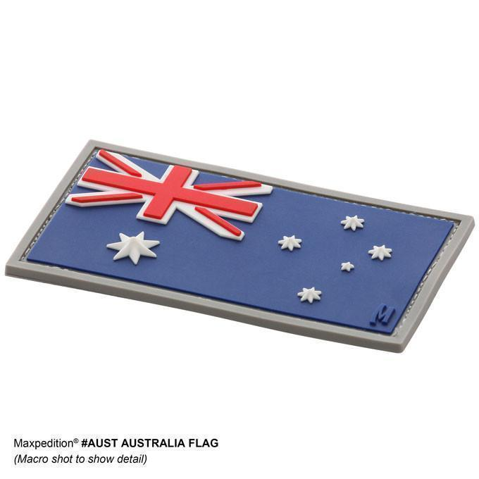 Maxpedition Morale Patch Australian Flag Patch Full Colour-Morale Patches-Tactical Gear Australia