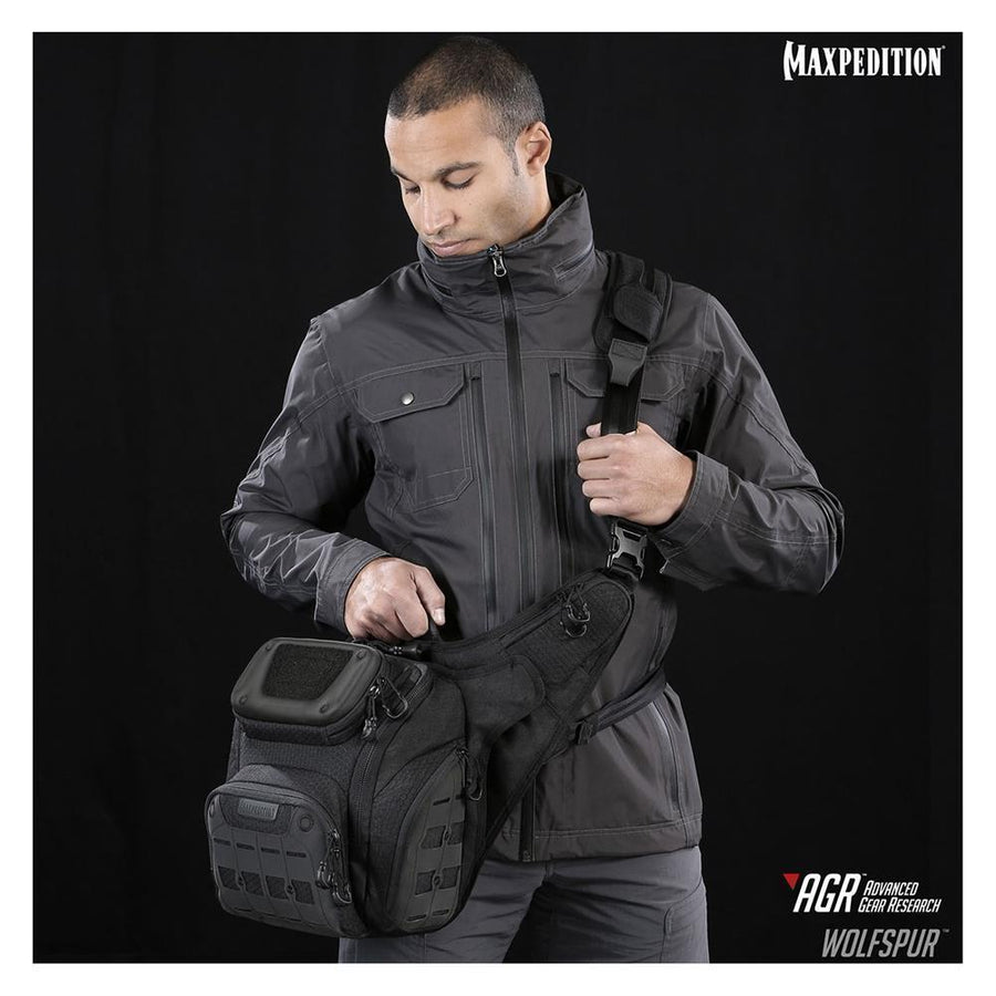 Maxpedition Wolfspur Crossbody Shoulder Bag-Bags, Backpacks and Protective Cases-Tactical Gear Australia