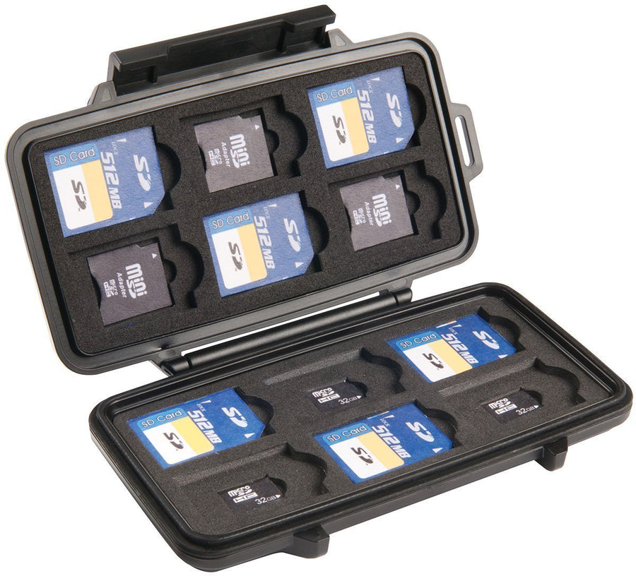 Pelican 0915 Micro Memory Card Case SD and SD Mini-Bags, Backpacks and Protective Cases-Tactical Gear Australia