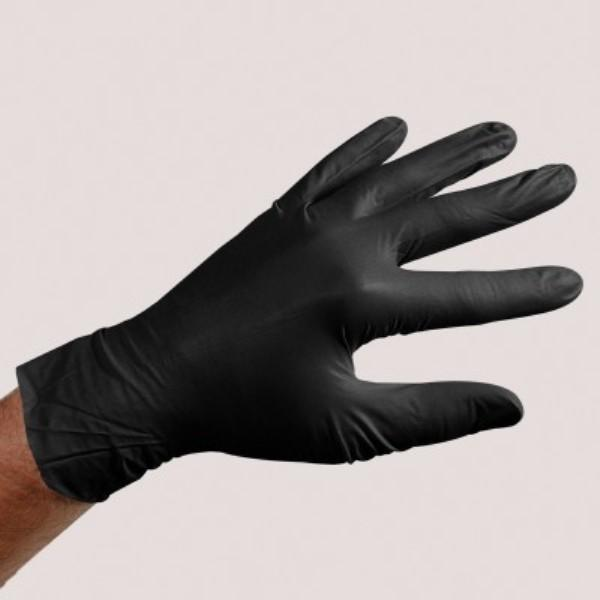 Sirchie Black Powder-Free Nitrile Gloves, Box of 100 Tactical Gear Australia Supplier Distributor Dealer