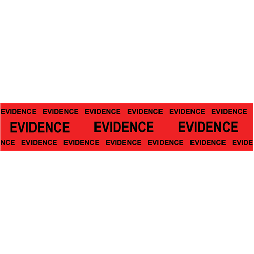 Sirchie Evidence Tape-Bl on Red-2 x165 Tactical Gear Australia Supplier Distributor Dealer