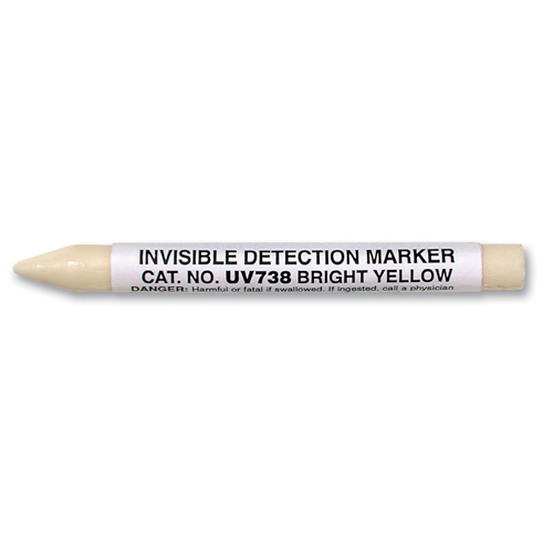 Sirchie Invisible Fluorescent Crayon, Yellow Tactical Gear Australia Supplier Distributor Dealer