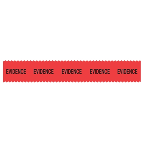 Sirchie SIRCHMARK Evidence Integrity Tape Red w/ Black Evidence 108' Tactical Gear Australia Supplier Distributor Dealer