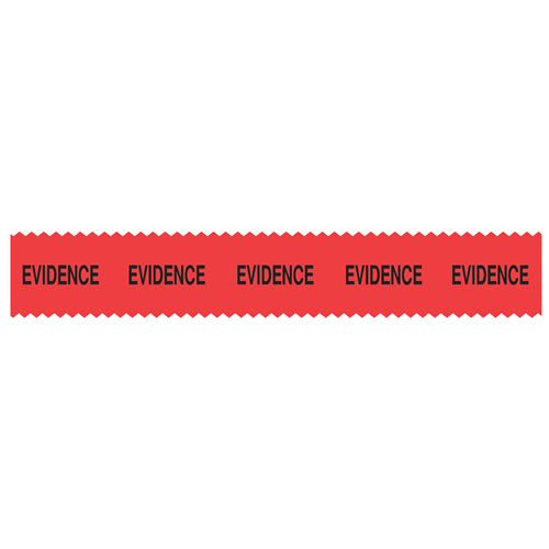 Sirchie SIRCHMARK Evidence Integrity Tape Red w/ Black Evidence 54' Tactical Gear Australia Supplier Distributor Dealer