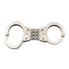 Smith & Wesson Model 300 Hinged Handcuff Nickel-Handcuffs and Restraints-Tactical Gear Australia