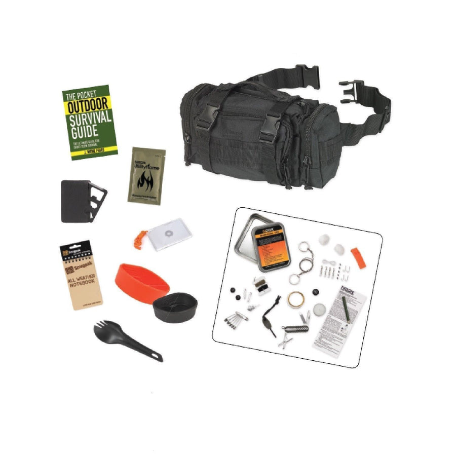 Snugpak 10-Piece Response Survival Bundle Black-Outdoor and Survival Products-Tactical Gear Australia