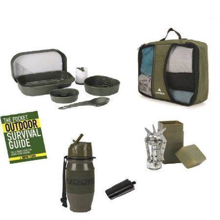 Snugpak Survival 5 Piece Camp Set With Carry Case Olive-Outdoor and Survival Products-Tactical Gear Australia