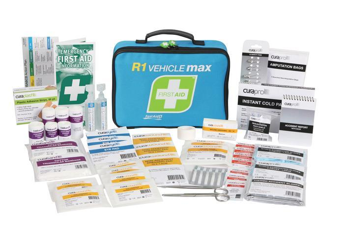 Warrior Medical Fast Aid R1 Vehicle Max First Aid Kit Soft Pack Tactical Gear Australia Supplier Distributor Dealer