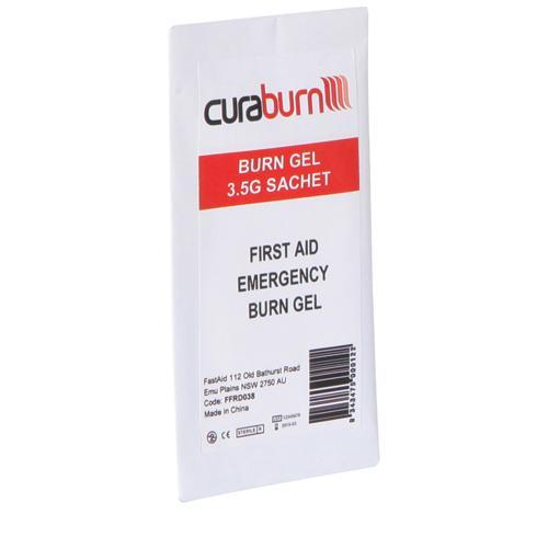 Warrior Medical FastAid Hydrogel Burns Gel 3.5g Sachet Tactical Gear Australia Supplier Distributor Dealer
