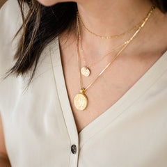 Beautiful stacked necklaces for Mother's Day gifting