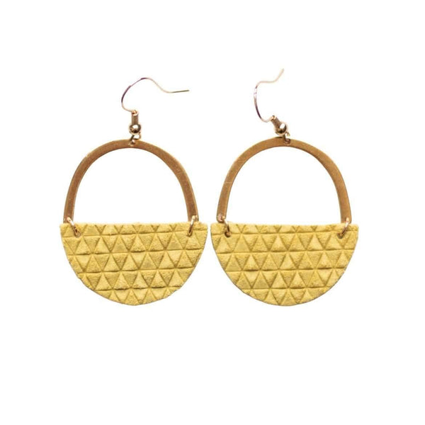 Illuminating Yellow Jo Earrings