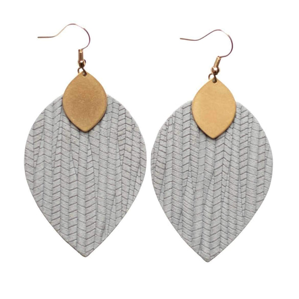Gray Skies Cora Earrings