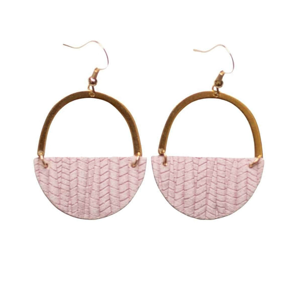 Rose Pink Jo Earrings