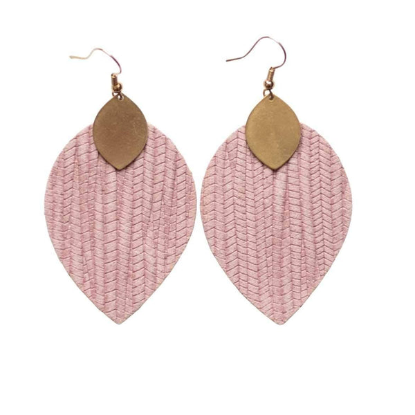 Rose Pink Cora Earrings