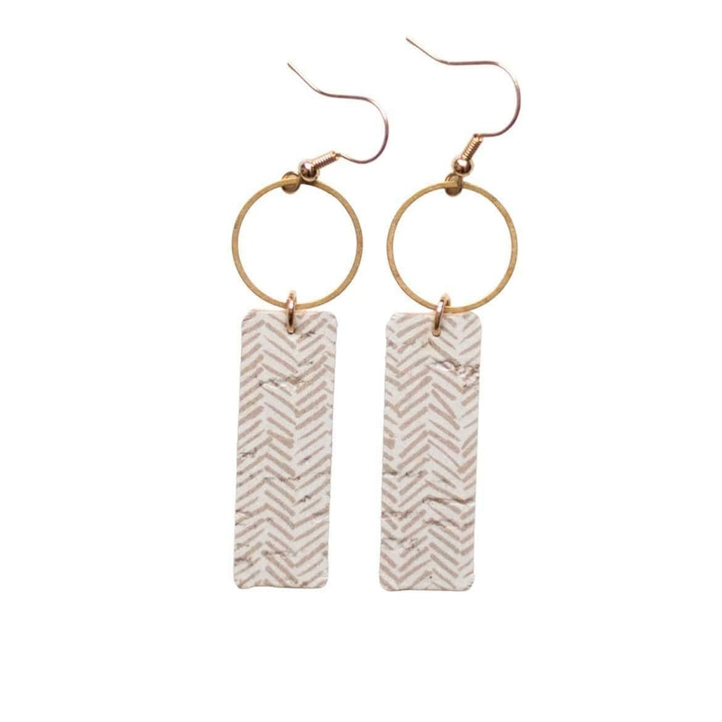 Soft Taupe Mia Earrings