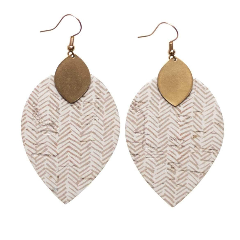Soft Taupe Cora Earrings