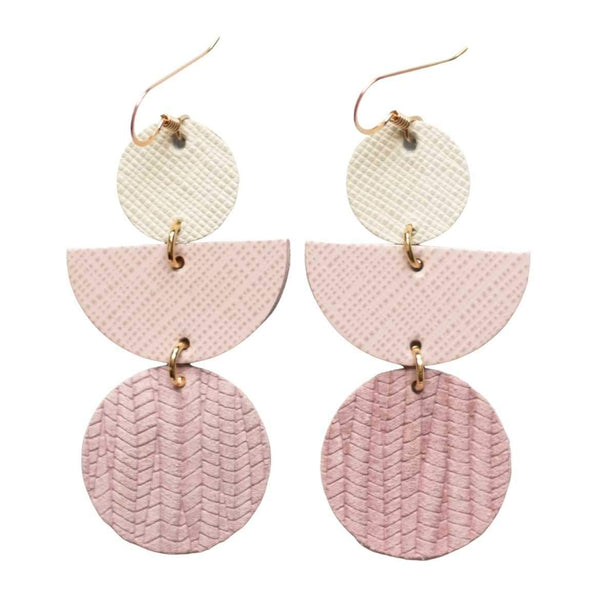 Rose Pink Lark Earrings